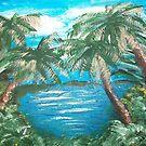 Blue Lagoon by Carol Megivern