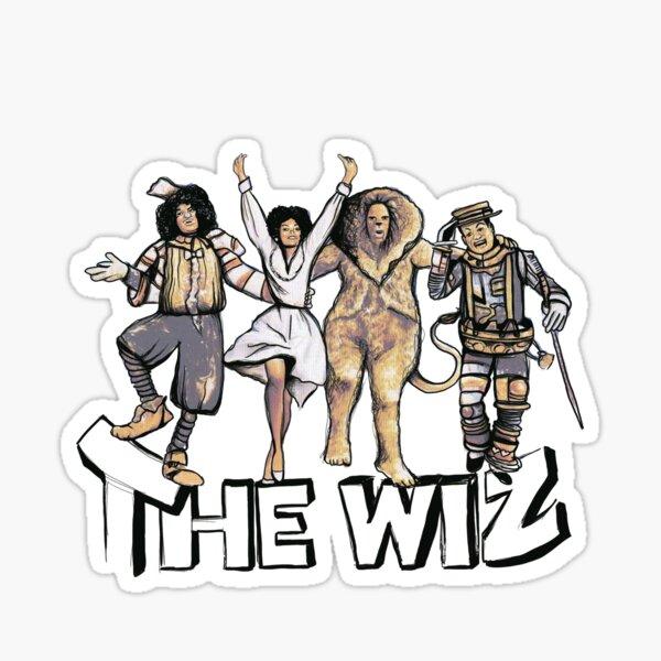 The Wiz Ya'll Sticker