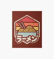 Retro Ramen Art Board Print