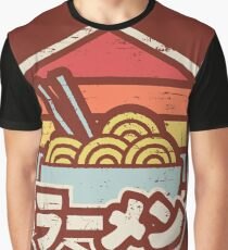 Retro Ramen Graphic T-Shirt