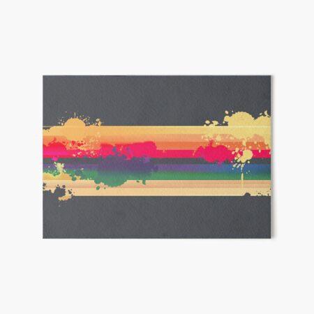 Regenbogen Galeriedruck
