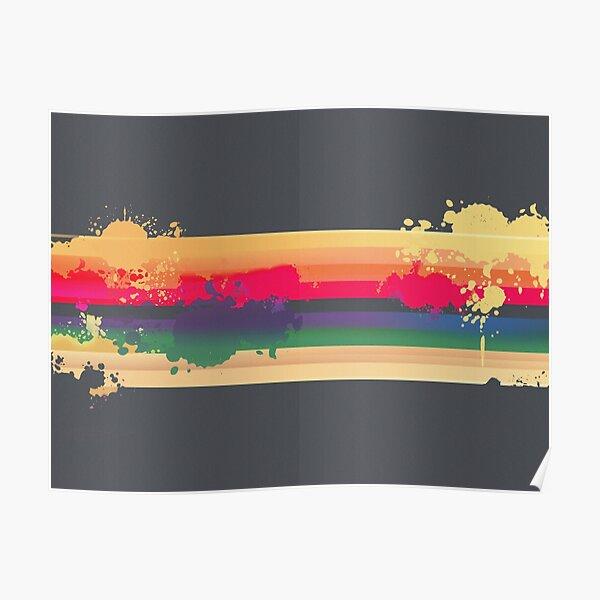 Expressive Rainbow Poster