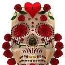 Dia De Los Muertos - Key To Your Heart by apadilladesign