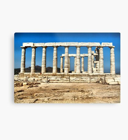 Temple of Posidon,Sounio Metal Print