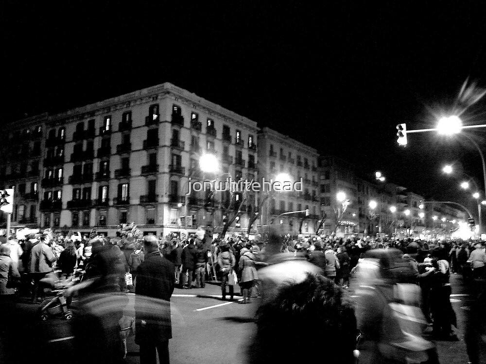 New Year Parade in Barcelona by jonwhitehead