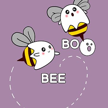 kawaii, bee, boo by Collagedream