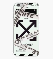 Off-White Belt Wrapped iPhone Case (HD) iPhone Case