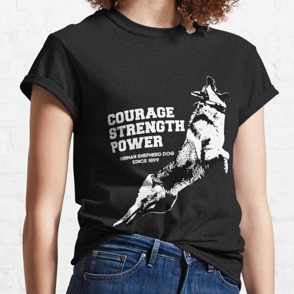 German Shepherd Courage Classic T-Shirt