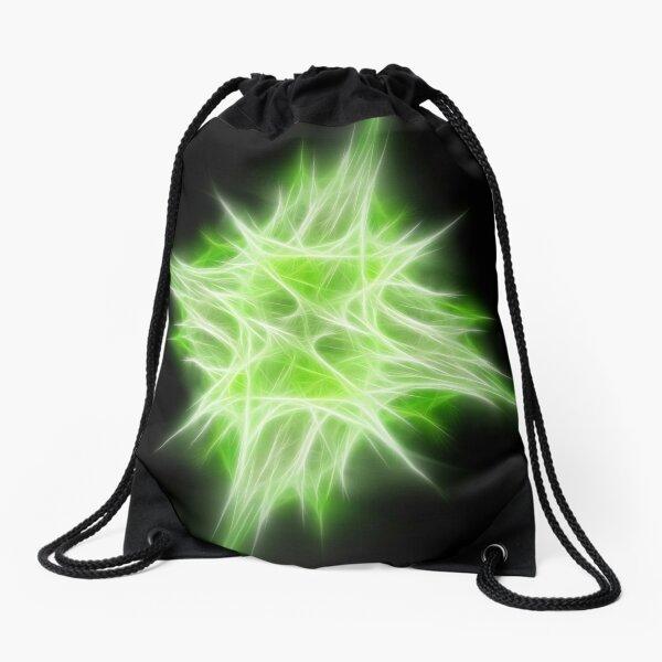 Green Star 1 Drawstring Bag