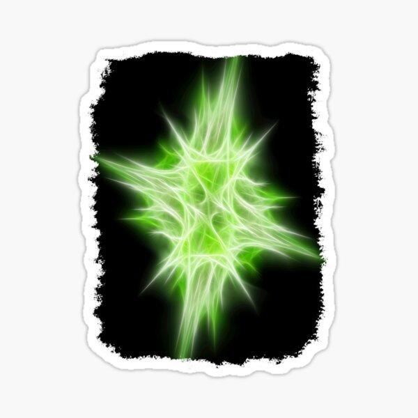 Green Star 1 Sticker