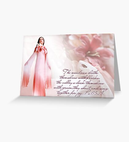 """""""The Orchid"""" Greeting Card"""
