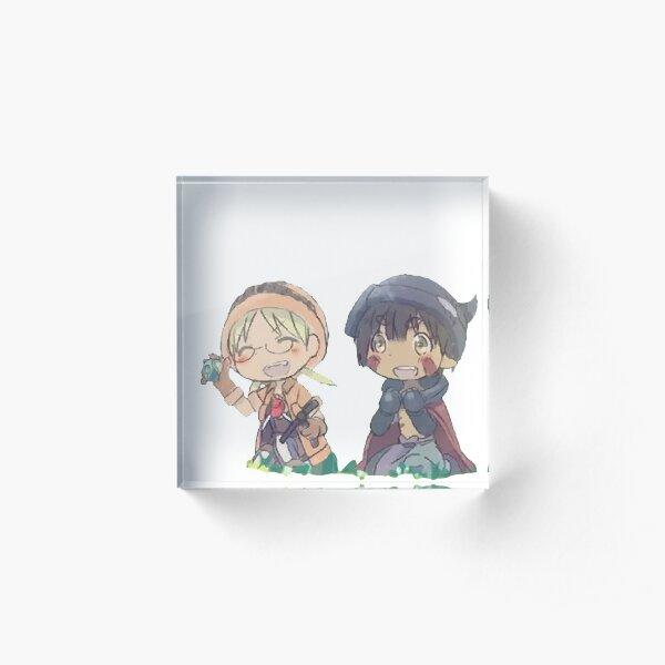 Riko and regu Acrylic Block