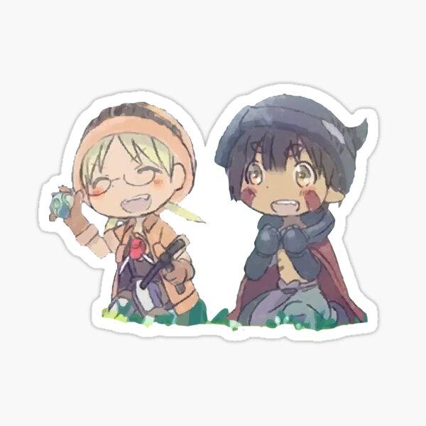 Riko and regu Sticker