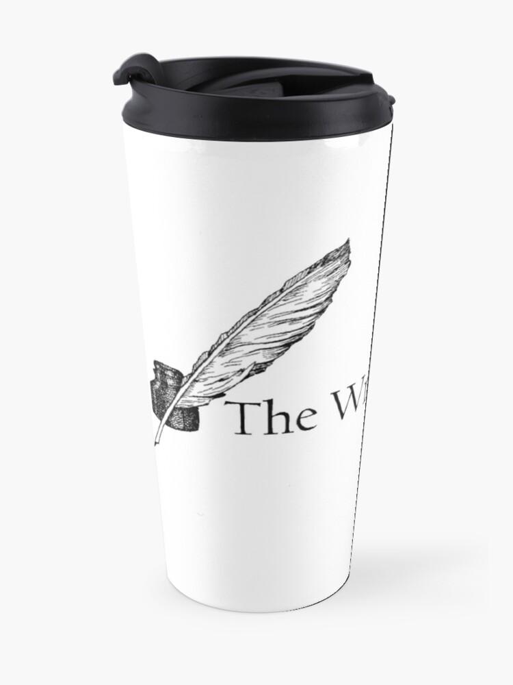 Alternate view of Writer's Spot Logo  Travel Mug