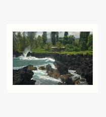 Ke'anae Beach Park, Ke'anae, Maui Art Print
