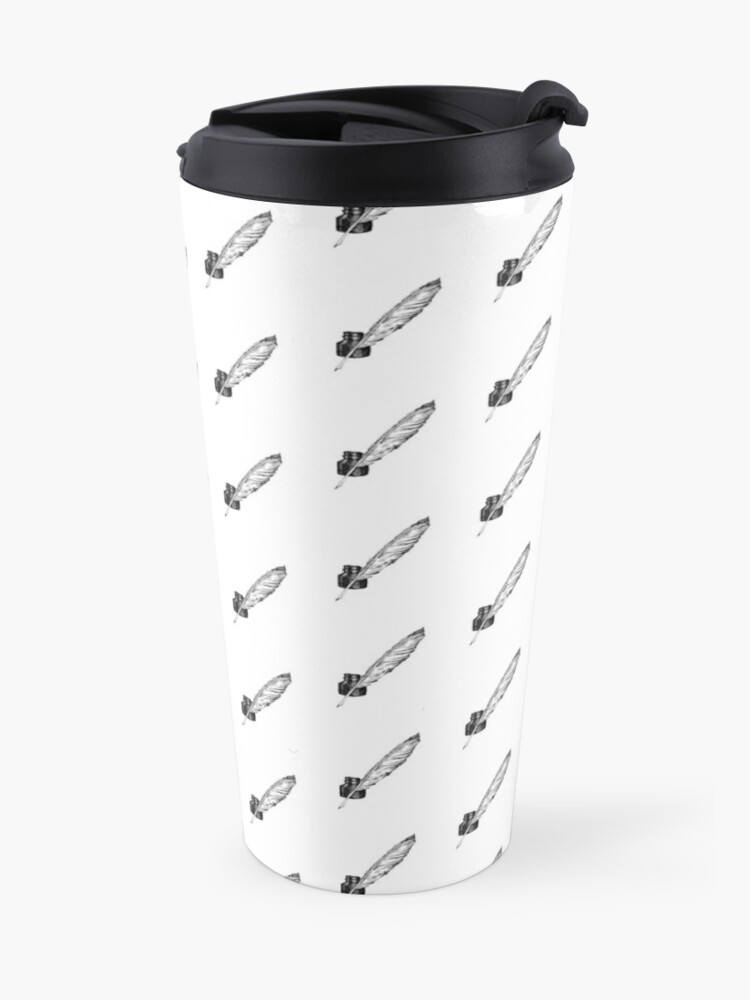 Alternate view of Ink and Quill  Travel Mug