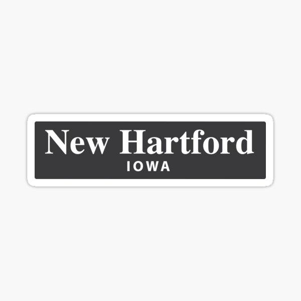 New Hartford, Iowa Sticker