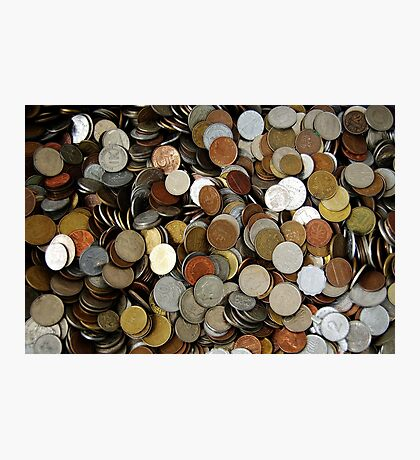 Moneymoneymoney. II Photographic Print