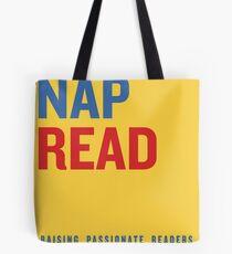 Snack.  Nap.  Read.   Tote Bag