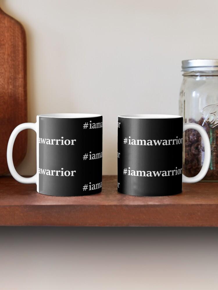 Alternate view of #iamawarrior Mug