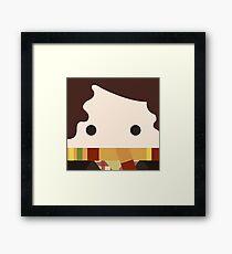 4th doctor, Tom Baker Framed Print
