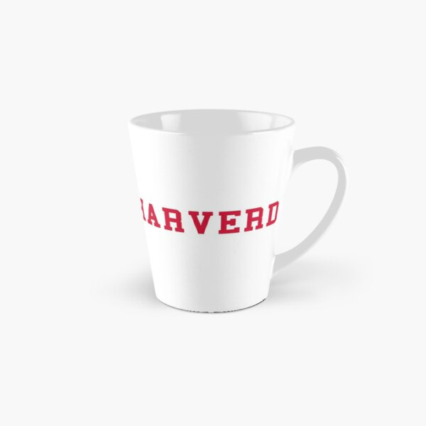 HARVERD (red letters) Tall Mug