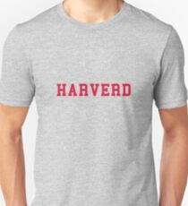 HARVERD (red letters) Slim Fit T-Shirt