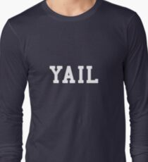 Yail (white letters) Long Sleeve T-Shirt