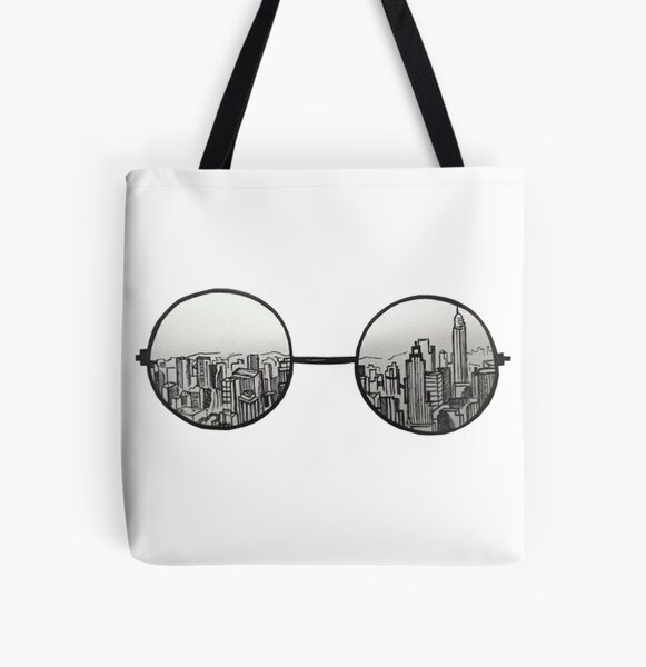 the view All Over Print Tote Bag