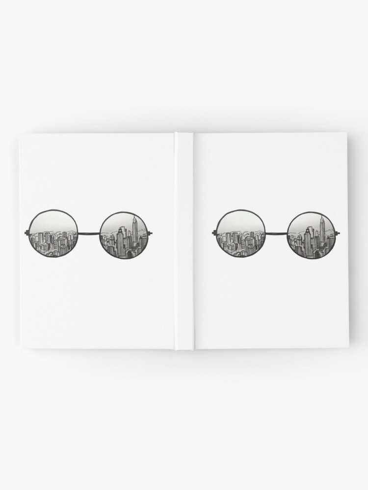 Alternate view of the view Hardcover Journal
