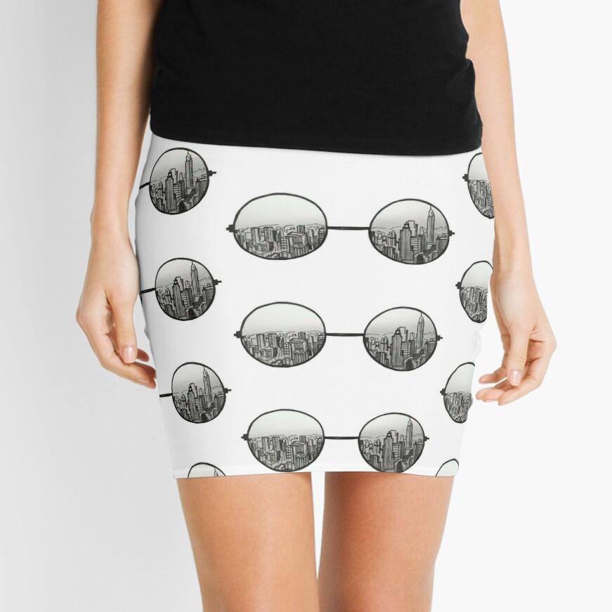 la vista Minifalda