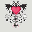 Bat-Winged Heart by Sybille Sterk