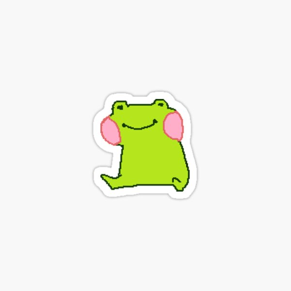 Original Frog! Sticker