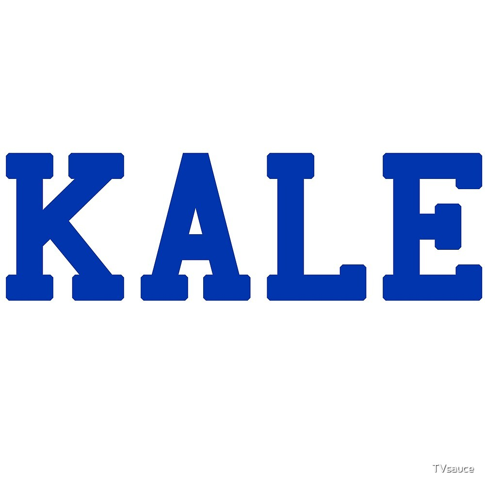 KALE (blue lettering) by TVsauce