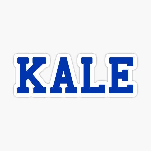 KALE (blue lettering) Sticker