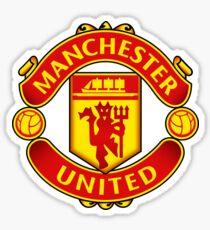 Manchester United Logo Sticker