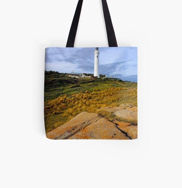 Point Hicks Lighthouse All Over Print Tote Bag