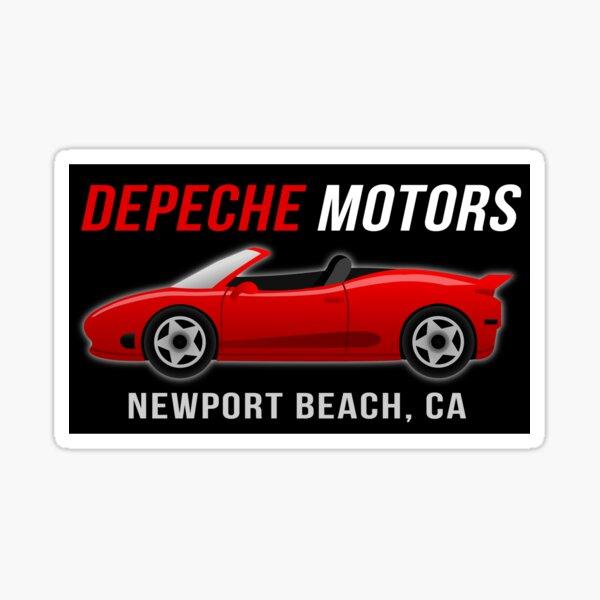 Depeche Motors Sticker