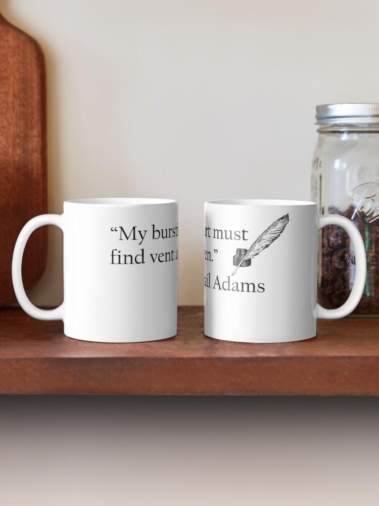 Alternate view of Abigail Adams Quill Quotable Mug
