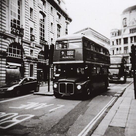 London bus 9 Aldwych by Mattias Olsson