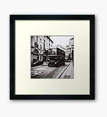 London bus 9 Aldwych Framed Print