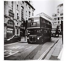 London bus 9 Aldwych Poster