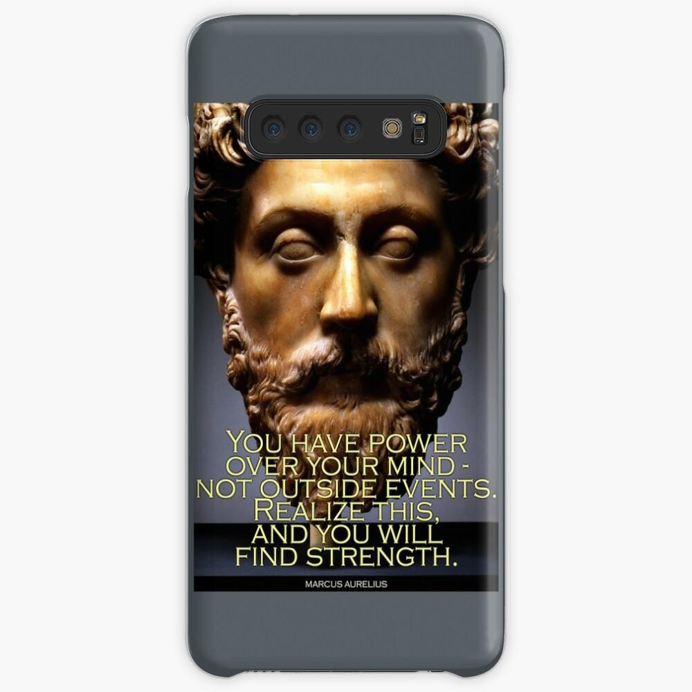 Marcus Aurelius Quote 4 Case & Skin for Samsung Galaxy