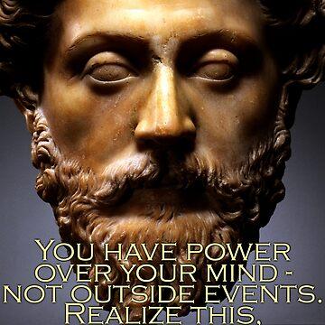 Marcus Aurelius Quote 4 by pahleeloola