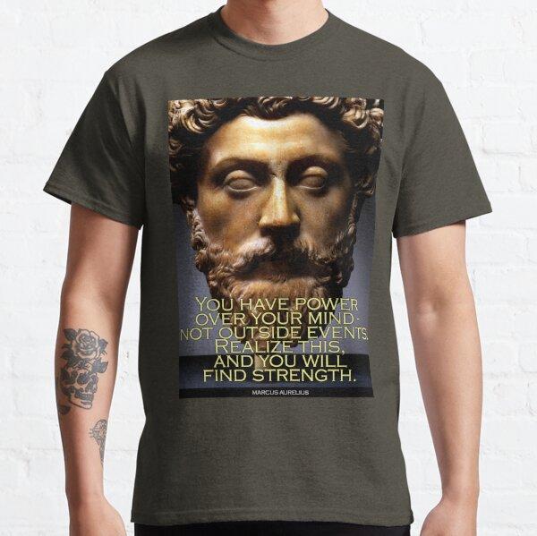 Marcus Aurelius Quote 4 Classic T-Shirt