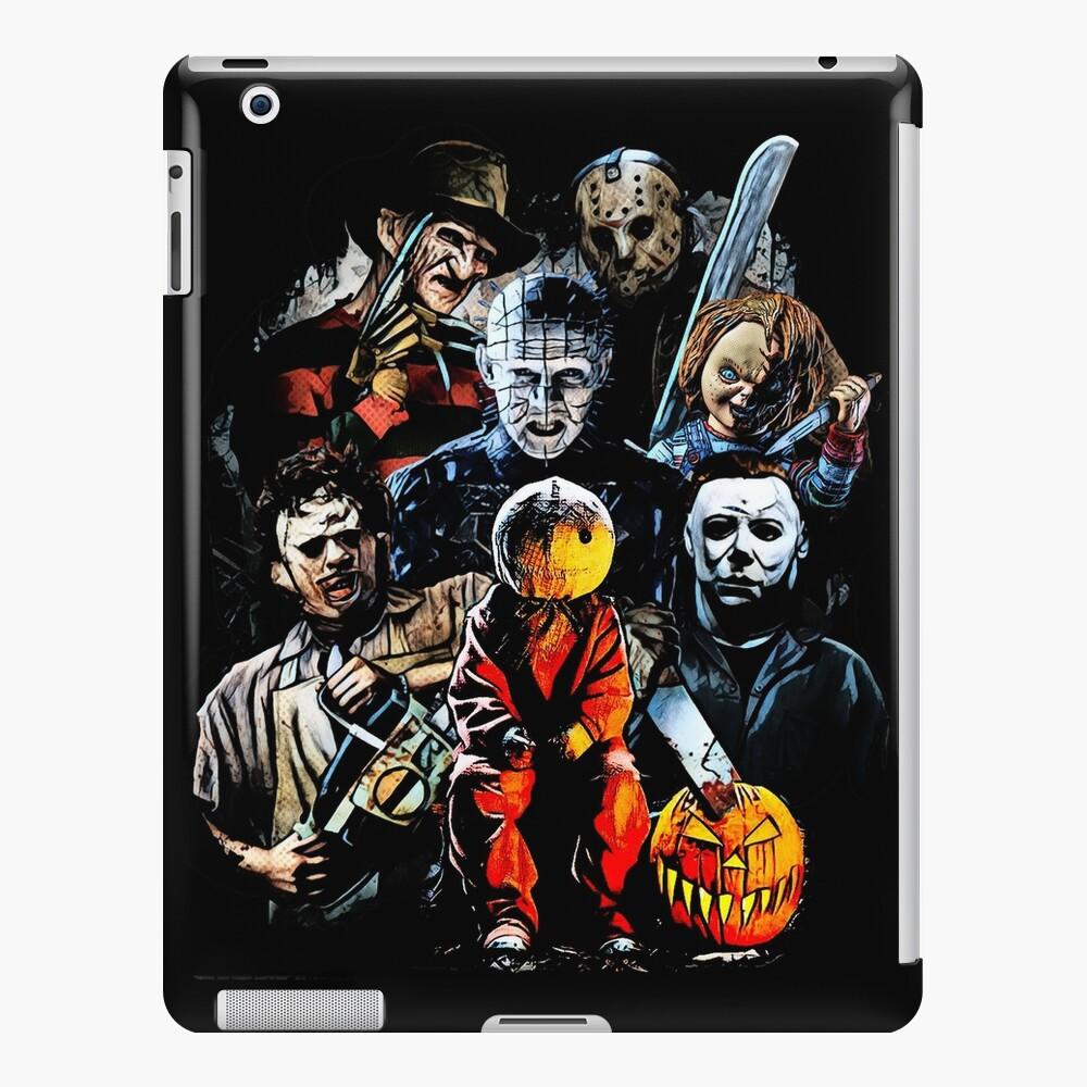 Horror movie characters iPad Case & Skin