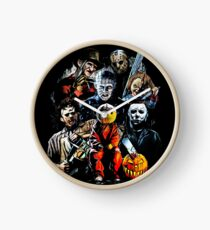 Horror movie characters Clock