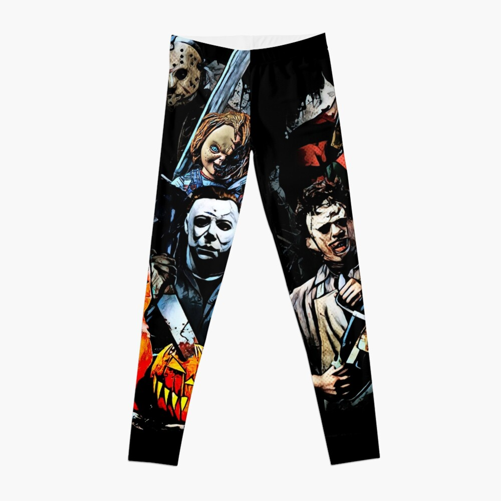 Horror movie characters Leggings