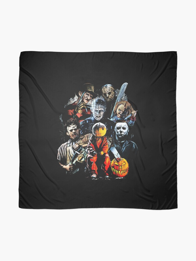 Alternate view of Horror movie characters Scarf