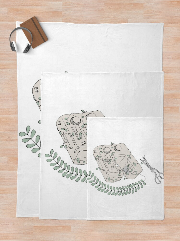 Alternate view of The Sewing Machine Escape Throw Blanket